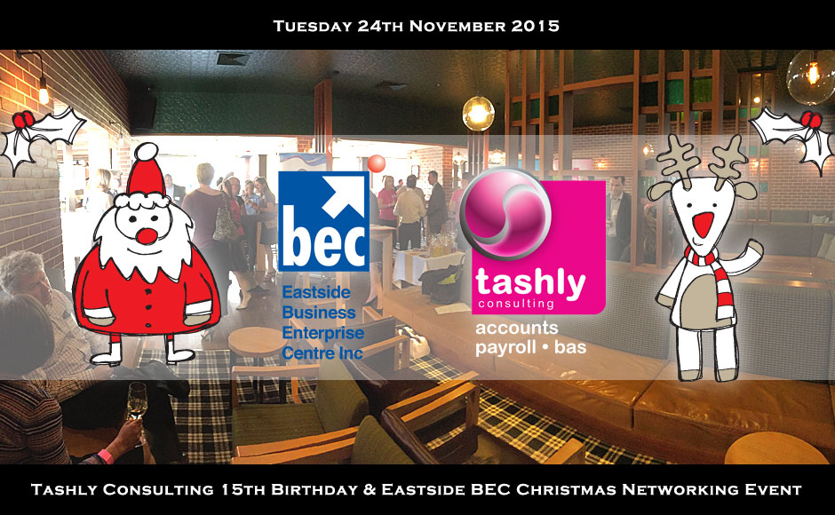 Tashly Consulting 15th Bday & Eastside BEC Xmas Networking Event