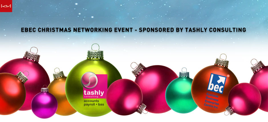 EBEC Christmas Networking Event Sponsored by Tashly Consulting