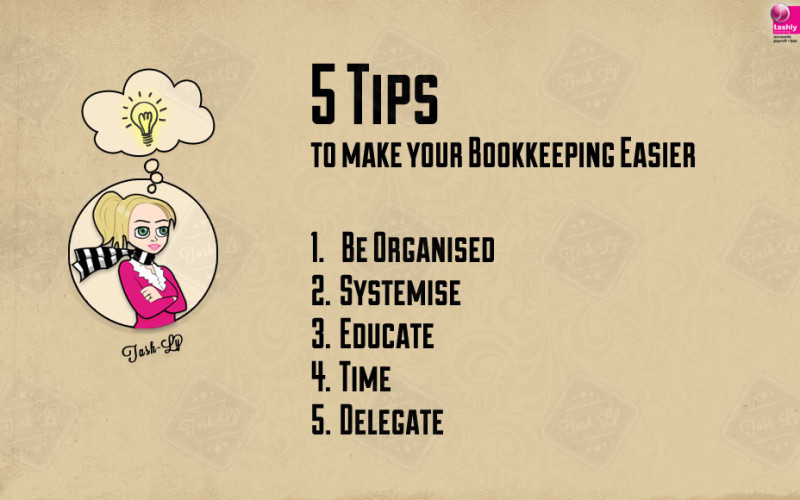 5 Tips – bookkeeping