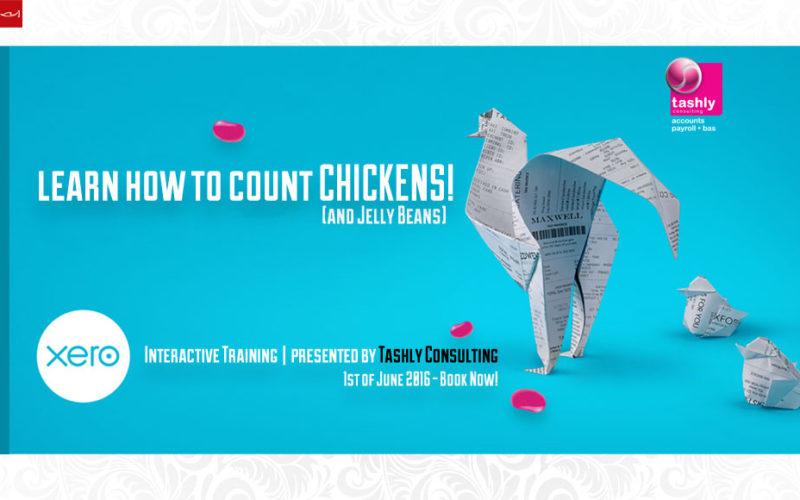 XERO count chickens