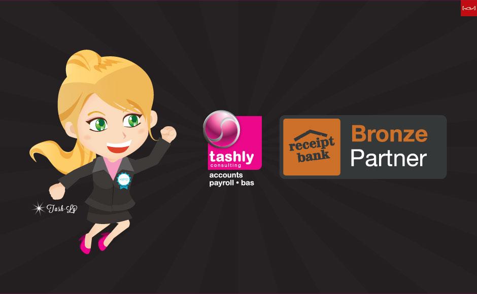 Receipt Bank Bronze Partner - Tashly Consulting