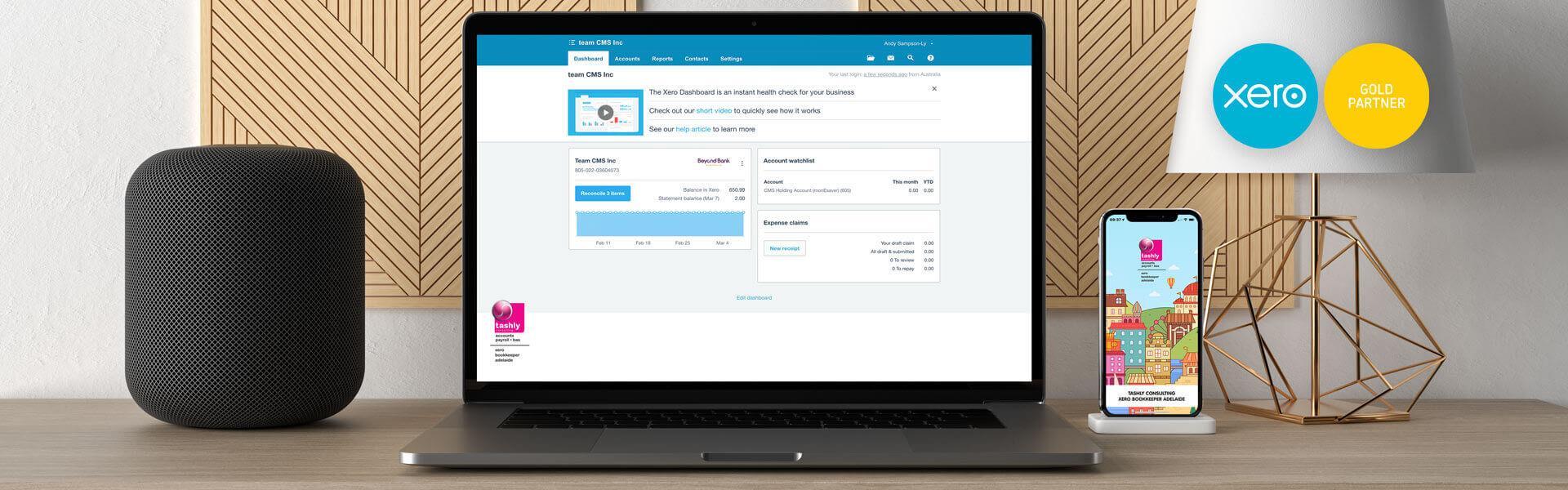 Tashly Consulting Xero Bookkeeping Adelaide