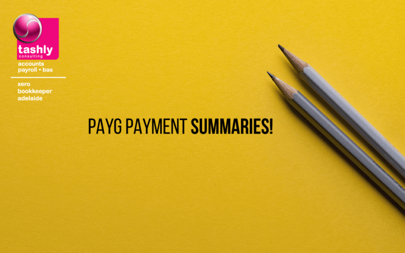 PAYG Payment Summaries