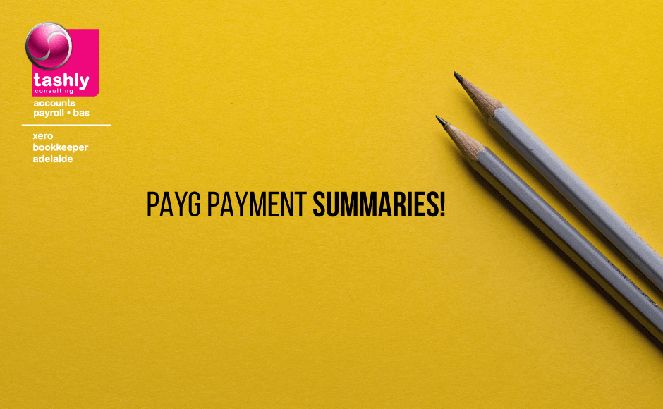 PAYG Payment Summaries by Xero Bookkeepers Adelaide