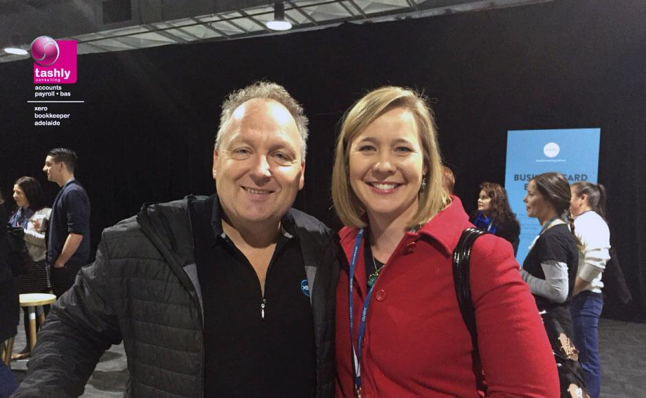 Tash and Rod Drury at Xerocon 2015