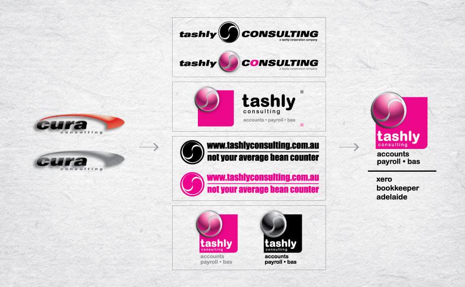Tashly Consulting | branding evolution, 2000 to 2020