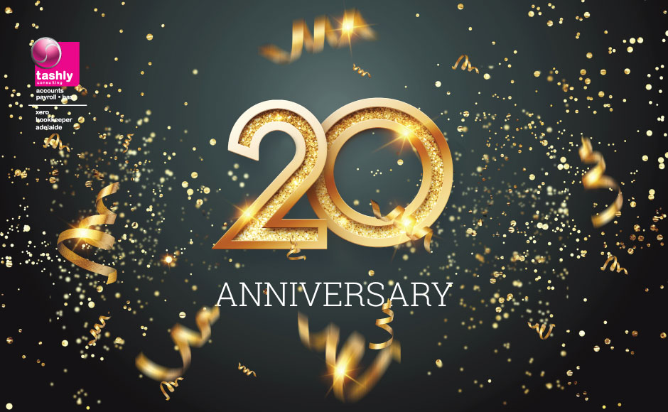 Tashly Consulting turns 20 in 2020!