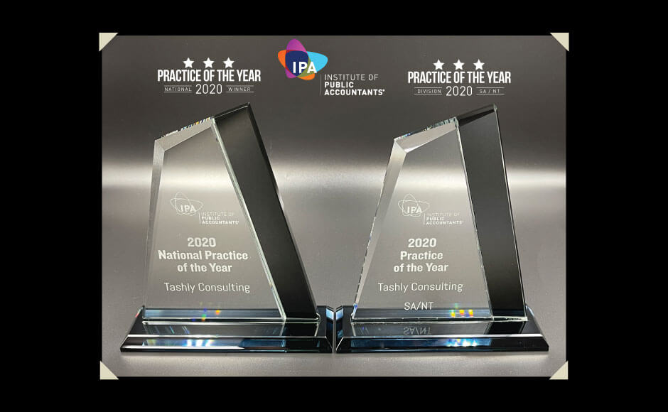 Tashly Consulting | IPA 2020 Practice of the year National + SA/NT Winner