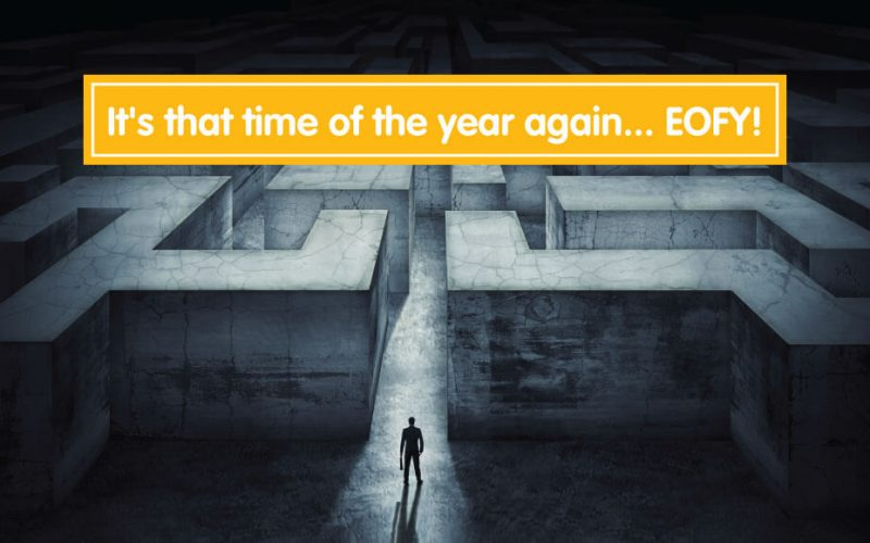 It's that time of the year again… EOFY 2021!