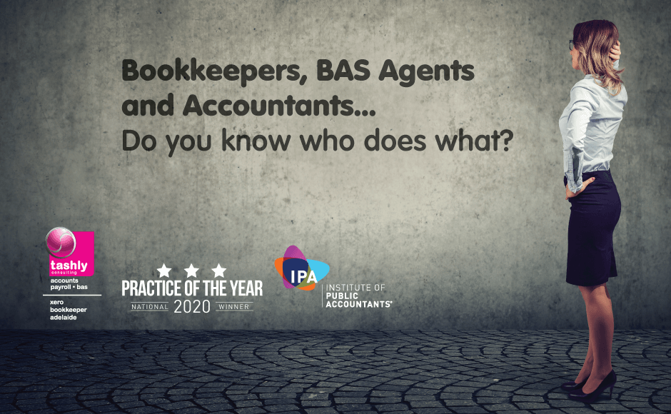 Bookkeepers and Accountants   Who does what..?